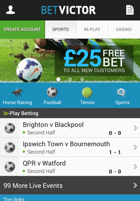 betvictor desktop version