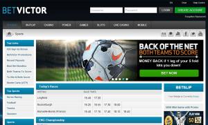 BetVictor Screenshot