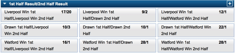 Half Time Full Time Betting 2