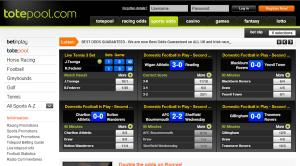Totesport Screenshot