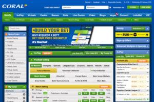 Coral Football Betting Screenshot